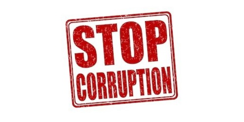 CORRUPTION IS NOT OK